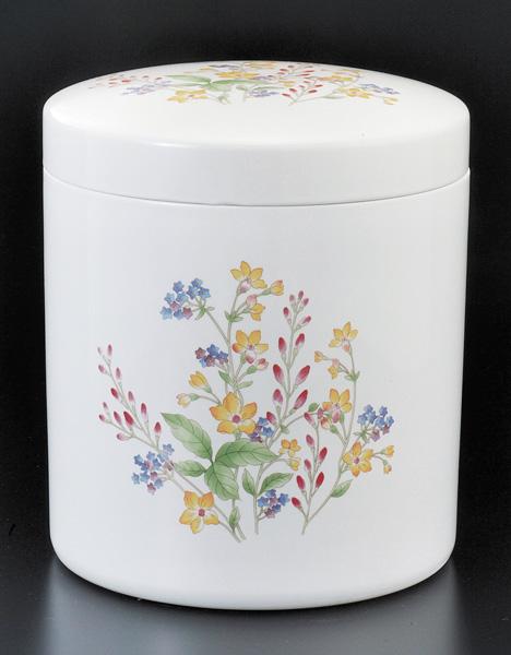 骨壷 切立 彩花(さいか)(サイズは3種類)【ウラブタ刻印可】 骨壷