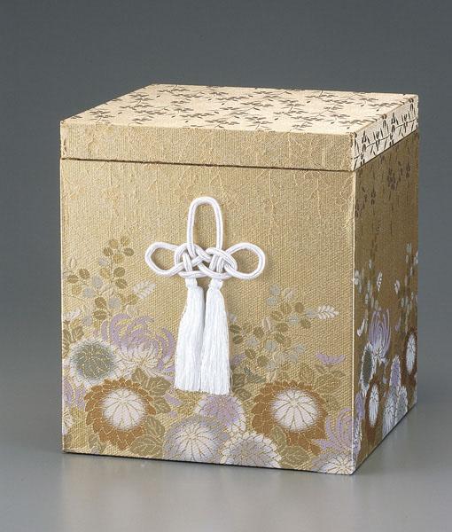 貼箱のみ 金彩菊(きんさいぎく) (サイズは骨壷5~7寸用) 骨壷