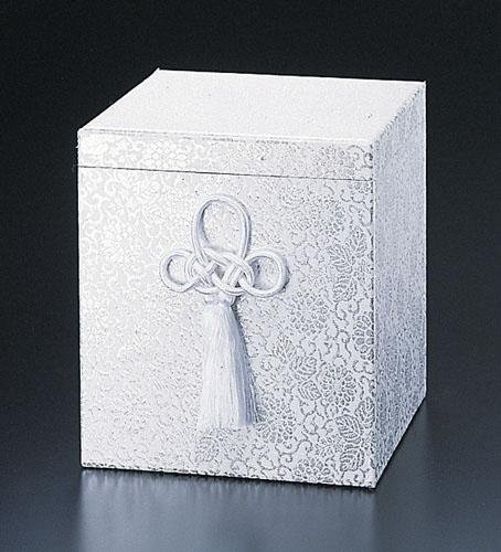 貼箱のみ ぬきなし【銀】 (サイズは骨壷5~7寸用) 骨壷