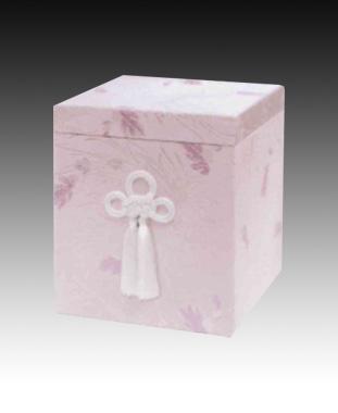 貼箱のみ 撫子【ピンク】(サイズは骨壷5~7寸用) 骨壷