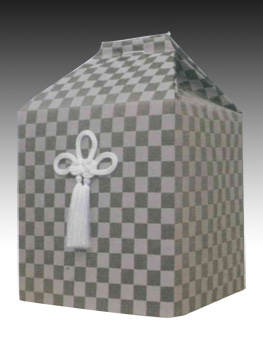 桐箱用骨カバーのみ 浪漫【藤×杢】(サイズは骨壷5~7寸用) 骨壷