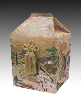 桐箱用骨カバーのみ 平安六丁 (サイズは骨壷5~7寸用) 骨壷