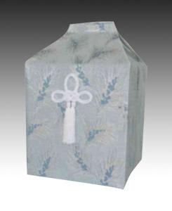 桐箱用骨カバーのみ 鶴林(かくりん)【空】(サイズは骨壷5~7寸用) 骨壷