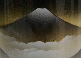 骨壷 深山(サイズは3種類)【ウラブタ刻印可】 骨壺