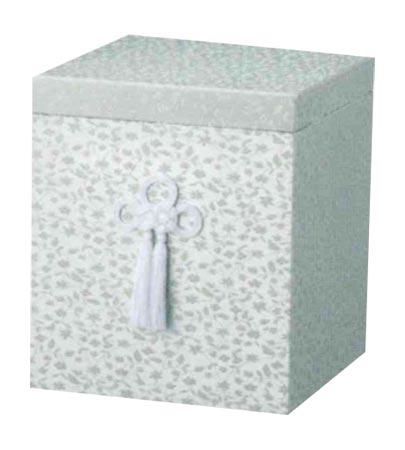 貼箱のみ うぐいす広金箱 (サイズは骨壷5~7寸用) 骨壷