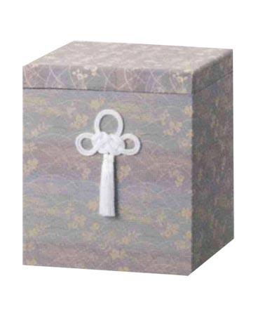 貼箱のみ シルビア広金箱 【青】(サイズは骨壷7寸用) 骨壷