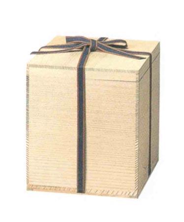 モミ箱 【紐付】のみ(サイズは骨壷5~7寸用) 骨壷