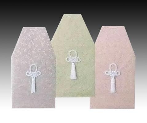 桐箱用骨カバーのみ 山月覆 【色は3種類】(サイズは骨壷5~7寸用) 骨壷